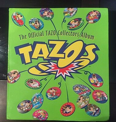 The Official Tazo Collectors Album + FREE POSTAGE