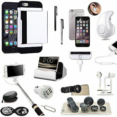 Case+Charger+Wireless Earphone+Headphones+Fish Eye+Monopod Kit For iPhone 7 Plus