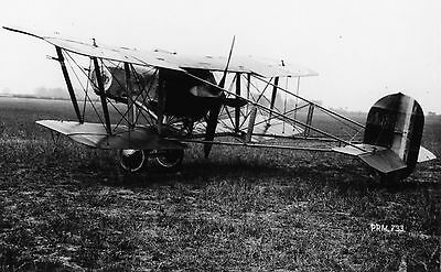 Prototype, Vickers FB.26 Vampire Mk.I, B1484 in 1917; photo