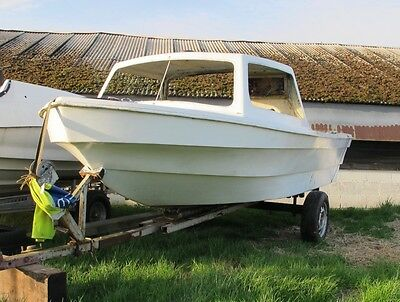 Project Fishing Boat 14Ft Dejon With Trailer