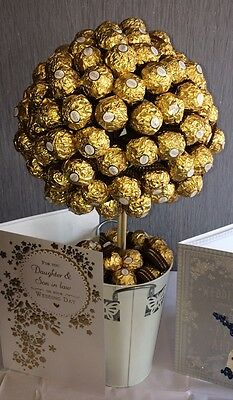 100 + Ferrero Rocher Chocolate Sweet Tree Great For Mothers Day