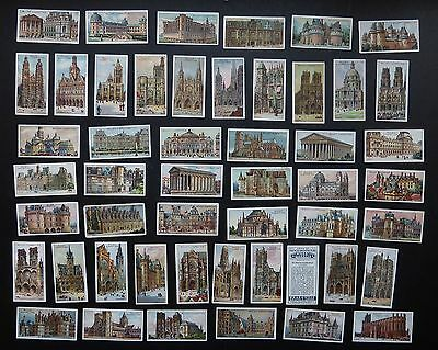Cigarette Trade Cards: Set Will's Gems of French Architecture