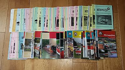 Collection Of 140 Austin Nash Metropolitan Owners' Club Newsletters / Magazines.