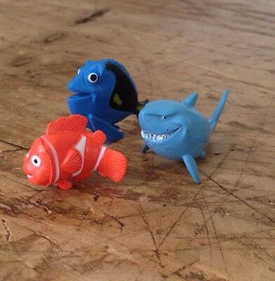 Finding dory / nemo Small Figures - Great For Birthday Cake Toppers
