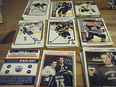 76   Score  2012 - 2013    American Ice Hockey Cards  Mint All   Listed