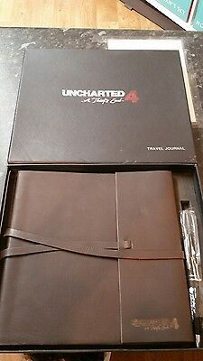 uncharted 4 travel journal (new and very rare)
