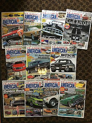 Classic American Magazines 11 issues 2011