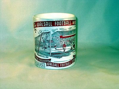 Football De Walsall Programme Collectionneurs TASSE
