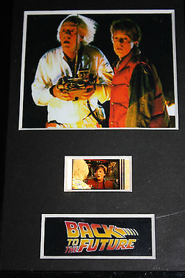 Back to the Future - 6x4 Framed movie film cell display, Nice Gift