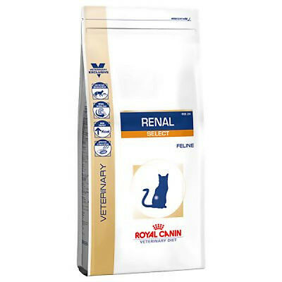 Croquettes Royal Canin Veterinary Diet Renal Select RSE 24 pour chats Sac 2 kg