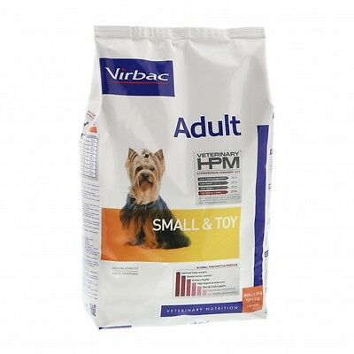 Croquettes Virbac Adult Dog Small & Toy Sac 7 kg