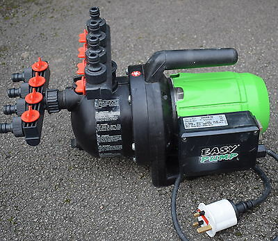 EASY PUMP Garden 700 P1 700w Water Jet 4 inlet and 4 outlet watering system