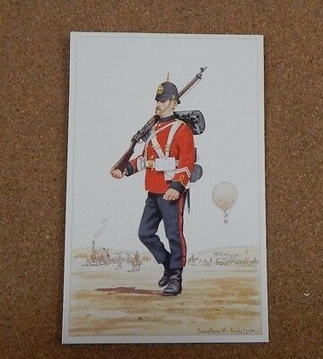 Military Uniforms Postcard corps of royal engineers C.1900. unposted