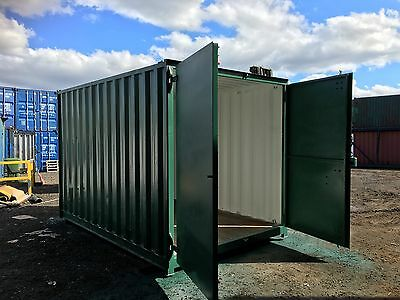 Rare Size 15x8 Ft Secure Container With Lock Box.