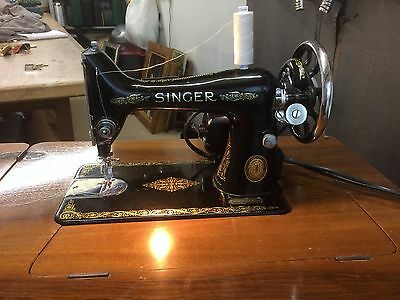 Singer Electric Vintage sewing machine in table