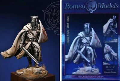 a Romeo Models 75 mm - Cavaliere Templare (XIII secolo d.C)