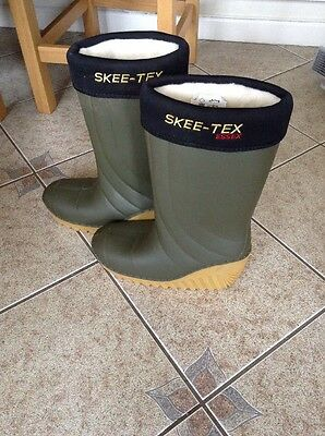 Skee Tex Essex Fishing Boots Size Men's 11.