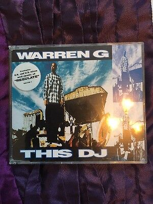 Warren G ‎– This DJ / Regulate 1994  Single Cd