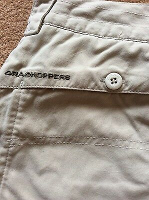 Craghoppers ladies walking trousers size 14R