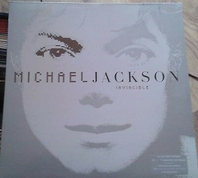 Michael Jackson Invincible 2 X Lp