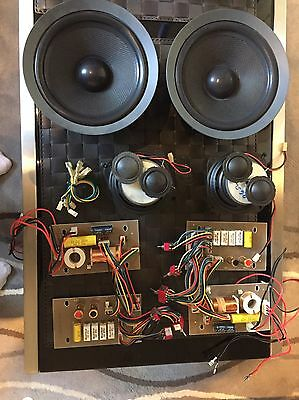 Jamo SU631K4 Dipole Speakers 3way Drivers And Crossovers