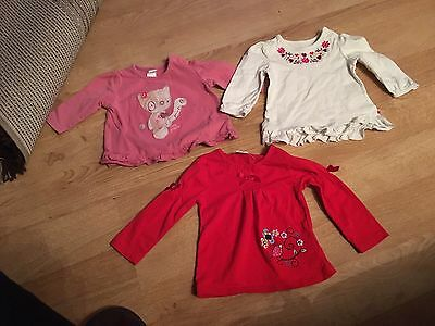 Girls 3-6 Month Tops Bundle