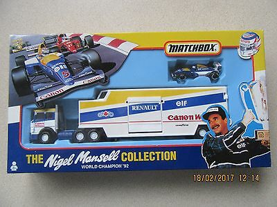 Formula 1 Nigel Mansell Collection Matchbox