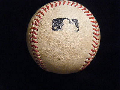 Rawlings Official MLB Manfred game used baseball 2016 game
