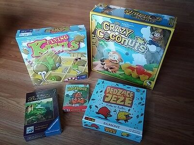 Lot of 5 Euro Board Games - New