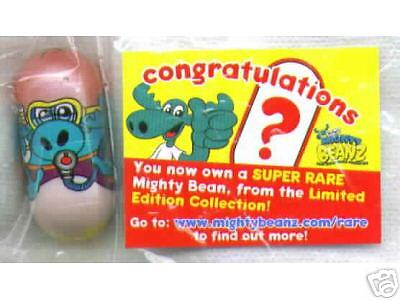 Rare Special Limited Edition Mighty Beanz Scuba Moose Bean One Of Only 1000 Made