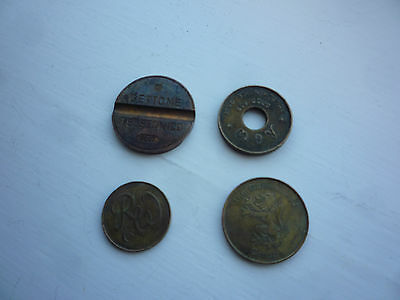 Old Tokens British and Italian
