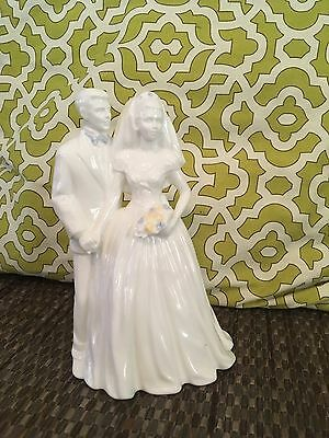 WEDGWOOD Bone China Wedding Day Figurine Cake Topper Martin Evans Vintage 1996