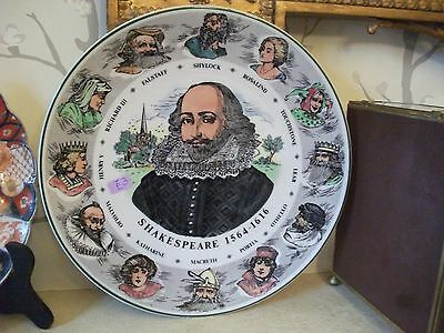 """Nice Royal Doulton 10.5"""" Series Ware Plate William Shakespeare T.c. 1041"""