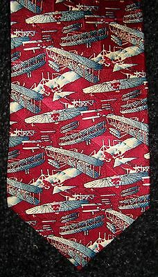 Tie Smithsonian Lilienthal Wright Military Flyer National Air Space Museum