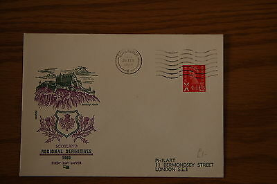 1969 Scottish regional Definitives Red 4d