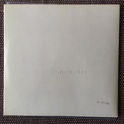 Beatles White Album Early Pressing Apple Top Loader EX Stereo PCS6067-8YEX 709-1
