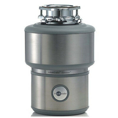 Stainless Steel Evolution Food Waste Disposer Large Grind Chamber Cordless Tools