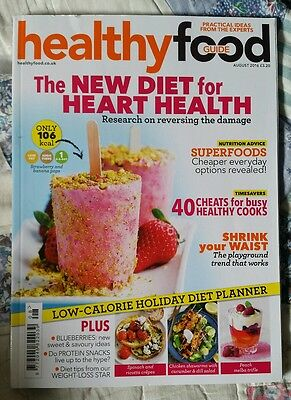 healthy food guide magazine, August 2016, HFG