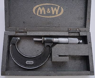 METRIC OUTSIDE MICROMETER 25-50mm MOOR & WRIGHT