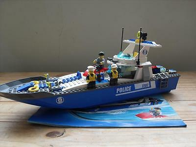 Lego Set 7287 - Police Boat with Instructions