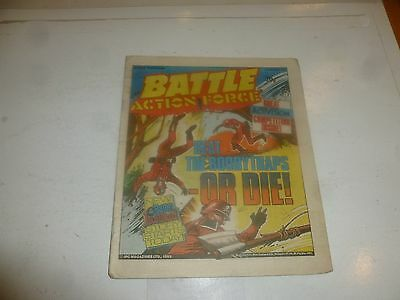BATTLE ACTION-FORCE Comic - Date 03/12/1983 - UK Paper Comic