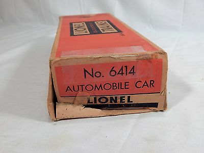 Lionel Evans Auto-Loader #6414 w/1-Yellow Car