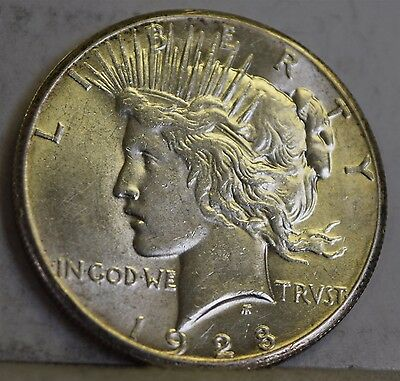 """1928 Peace Dollar """"UNC"""" *Free S/H After 1st Item*"""