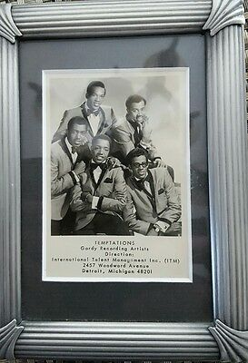 The Temptations - Classic Motown card..