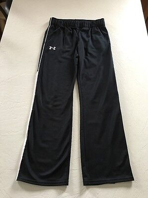 Youth Under Armour Athletic Black Pants, Size Large