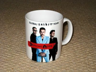 Depeche Mode Global Spirit Tour Advertising MUG