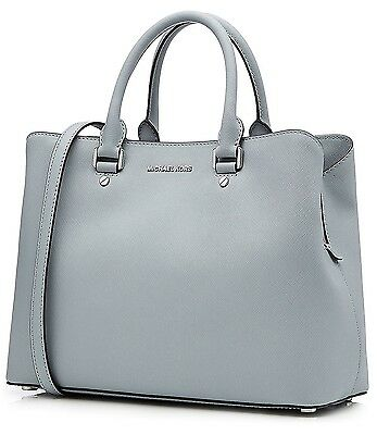 Michael Kors Tasche/Bag Savannah Large Tote Saffiano Dusty Blue NEU! MODELL 2016