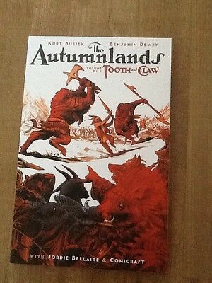 The Autumnlands Volume One Tooth And Claw Image Graphic Novel By Kurt Busiek