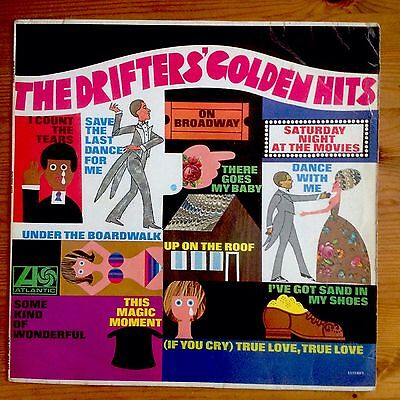 The Drifters Golden Hits Original 1968 STEREO LP Very Good Condition Throughout