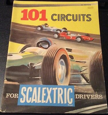 """Vintage """"101 Circuits For Scalextric Drivers"""" 2nd Edition Book"""